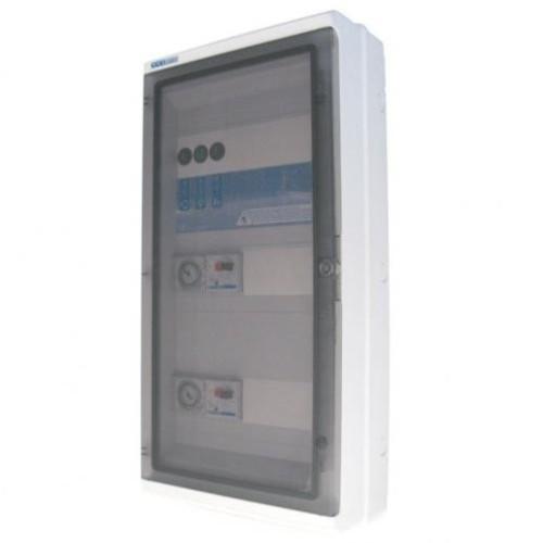 Coffret PANORAMA 1 pompe + 1 projecteur + 1 balai