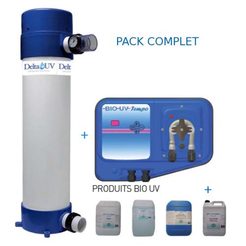Pack Traitement UV OXY Delta E-40
