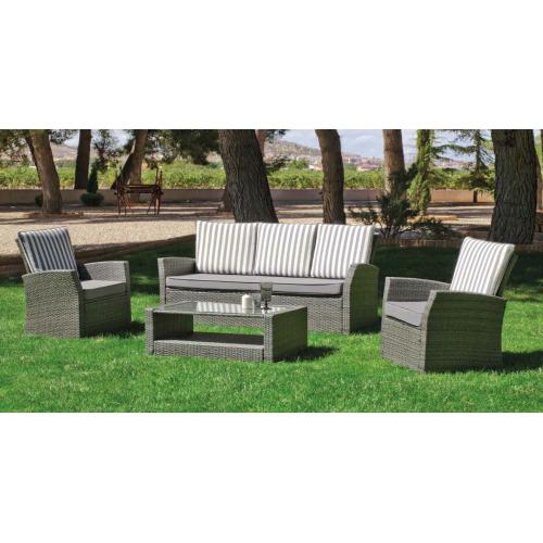 salon de jardin verona haut de gamme en r sine tress e. Black Bedroom Furniture Sets. Home Design Ideas