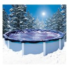Bâche hiver piscine hors sol ronde