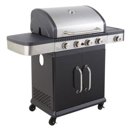 Barbecue à gaz FIDGI 4 + 1 Réchauffeur