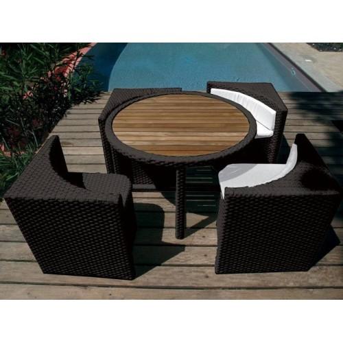 Salon jardin QUATTRO Lounge