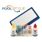 Trousse d'analyse POOLSTYLE Chlore et pH