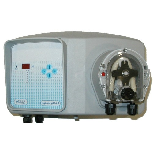 R gulateur de ph isipool pas cher erobot piscine for Pompe doseuse ph piscine