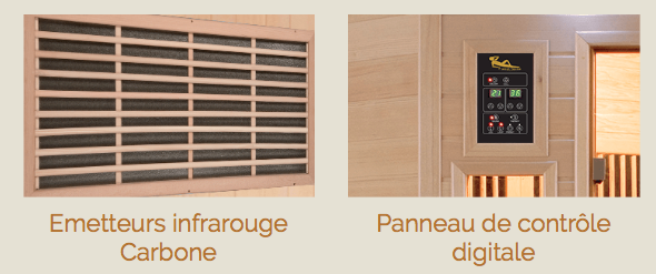 Équipements sauna Apollon