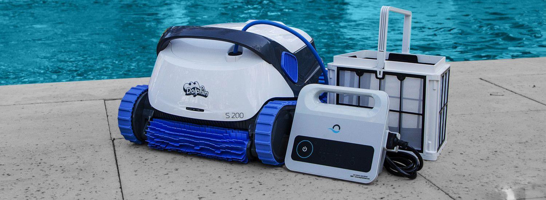 Robot de piscine Dolphin Serie S compresseur