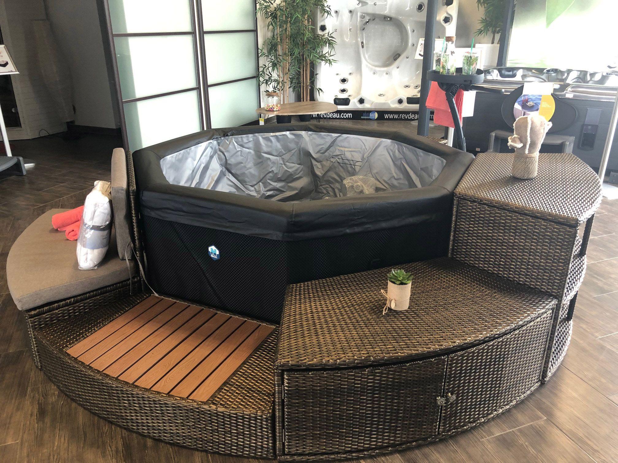Comment Fonctionne Un Jacuzzi Gonflable spa portable octopus netspa 6 places