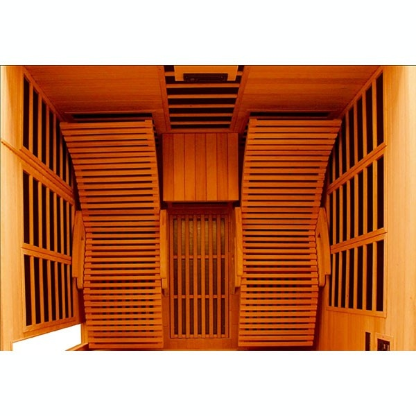 Sauna infrarouge alto duo nature 2 places - Sauna exterieur infrarouge ...